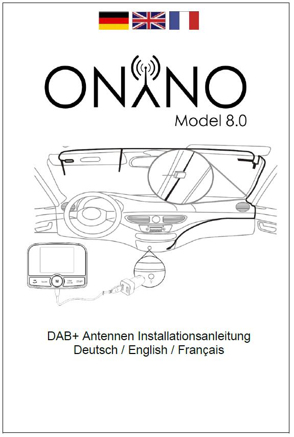 onyno model 8 0 ber onyno dab transmittter in car. Black Bedroom Furniture Sets. Home Design Ideas