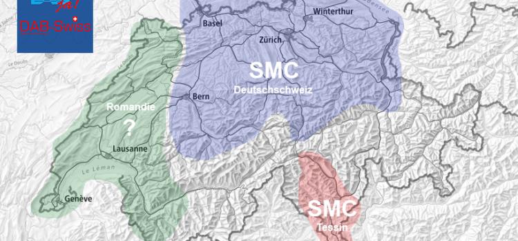 20.12.2017 –  Endlich zugeteilt: neue DAB+ Übertragungskapazitäten in der Schweiz (www.dab-swiss.ch)